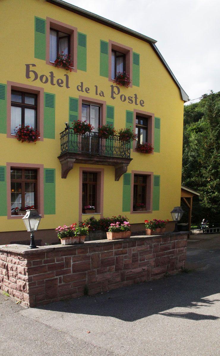 Hotel De La Poste A Le Bonhomme Vosges Emoi